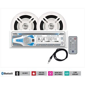"""Digital media receiver with Bluetooth® antenna and 6.5"""" speakers"""