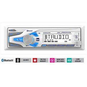 Dual digital media receiver with Bluetooth® 200 watts (50 watts x 4)