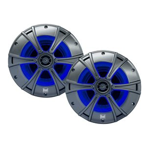 Dual 6.5'' 150W 2-way speakers Blue illumiNITE LED lighting