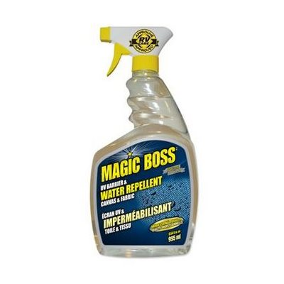 Magic Boss UV barrier and water repellent for canvas and fabric 995ml