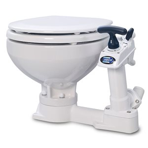 Toilet manual compact