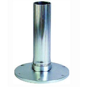"""EEz-in 2.875"""" seat base 12"""" ribbed stanchion"""