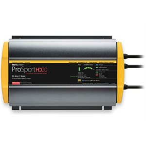 ProSport HD series battery charger - 20 AMP 2 banks 12 / 24V