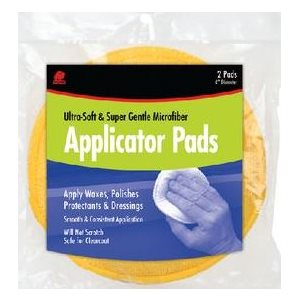 """Microfiber applicator pad 6"""" (2)"""