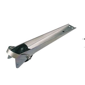 """Anchor roller stainless 15-1 / 2"""" x 1-3 / 4"""""""