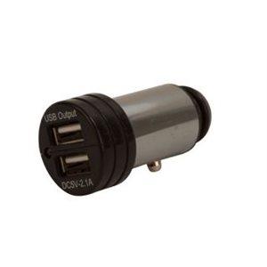 Power plug double USB