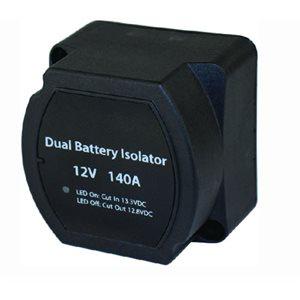 "Smart Dual Battery Isolator 2-5 / 8"" x 2-5 / 8"" x 2"""