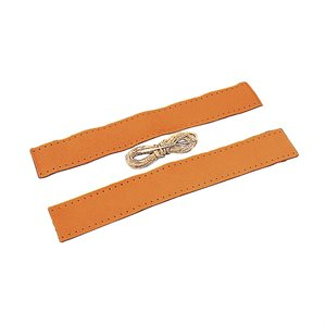"""Leather chafe kit for mooring line 1 / 2"""""""