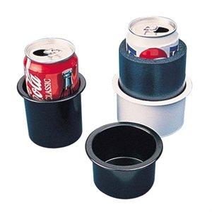 """Porte-boissons encastré blanc large 3-5 / 8"""" x 2-5 / 16"""""""