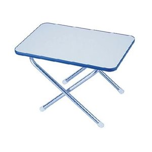 """Table en mélaminé 16 """"x 24"""" se plie à plat."""