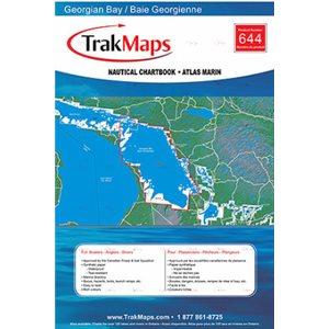 Baie Georgienne - Atlas Marin Trak maps