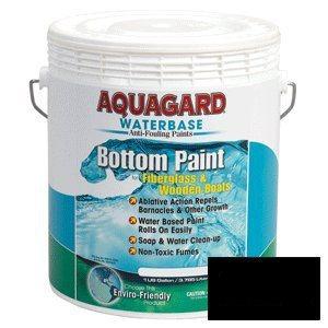 Aquagard bottom paint black 1 gallon