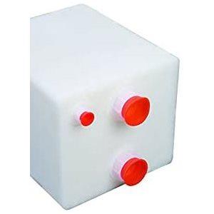 """Réservoir de rétention / d'eau 12 gallons 24-1 / 2 """"x 15-1 / 4"""" x 8-1 / 2 """"ports NPT standard"""