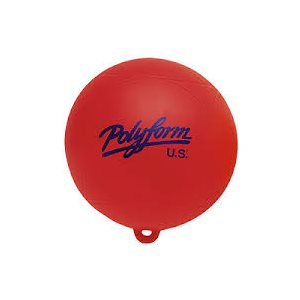 """Polyform water skiing buoy 9"""" red"""