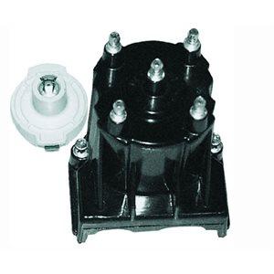 Distributor cap, rotor kit for MerCruiser, OMC, Volvo, Penta GM 4 cyl w / Delco EST ignition