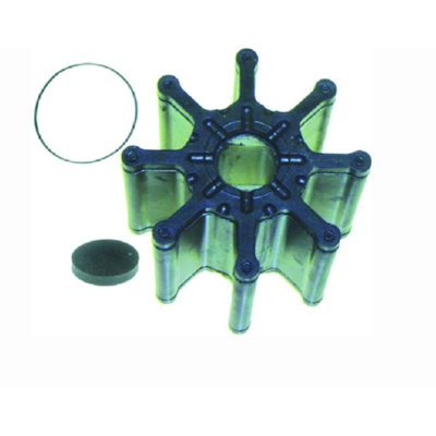 Impeller fits 2000 and newer Mercruiser V6 and V8 4.3L / 262ci, 5.0L / 305ci, 5.7L / 350ci , 8.1L / 496ci engines with the brass sea water pump. replaces 47-862232A2