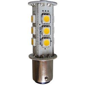 Ampoule DEL 1 contact 13 DELs blancs 12V
