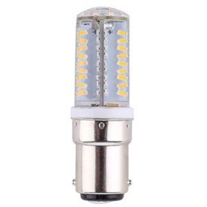 Ampoule DEL double contact baïonnette 13 DELs blancs 12V / 24V