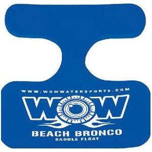 "Saddle beach bronco 21"" x 20"" blue"