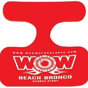 "Saddle beach bronco 21"" x 20"" red"
