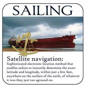 "Coaster 'Navigation' 4"""