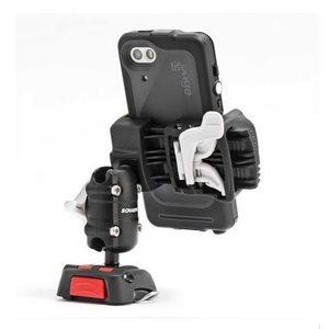 Kit de support téléphone portable Rokk mini avec base pour rail