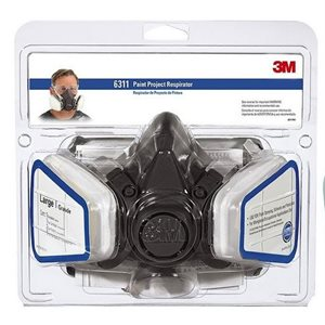 Dual cartridge respirator medium