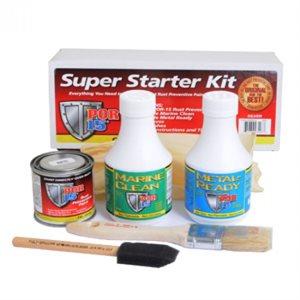 POR-15 Super starter kit black