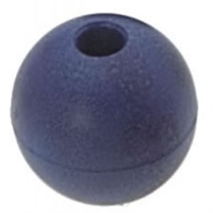 Boule d'emprise bleu 28 mm trou 6 mm