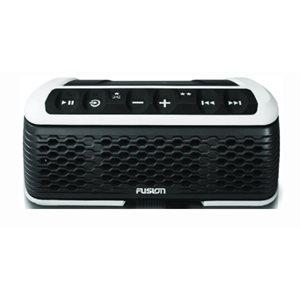 "Fusion bluetooth AM / FM tuner with speaker USB 9.3"" x 3.25"" x 5.5"""