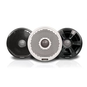 """Fusion 6"""" 200W 2 way speakers with 3 grill option"""