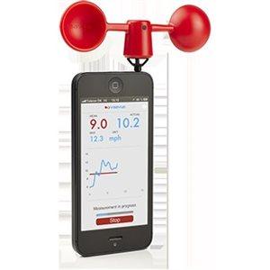 Vaavud Wind Meter for Smartphones- Red
