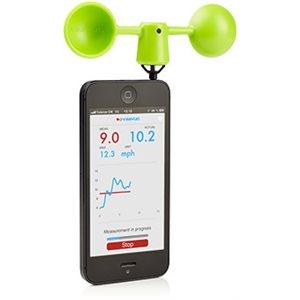 Vaavud Wind Meter for Smartphones - Green