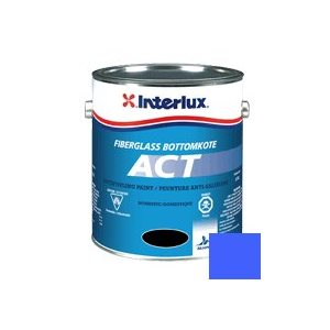 Fiberglass Bottomkote Act Blue 1 Gallon