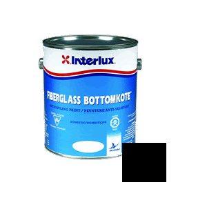 Fiberglass Bottomkote Noir 1 Litre