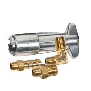 "Fuel line fitting kit Mercury 3 / 8"" barb"