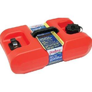 Fuel tank 3 gallon portable with guage