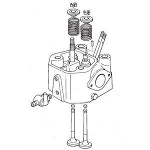 Cylinder head assembly YSE8 YSB8