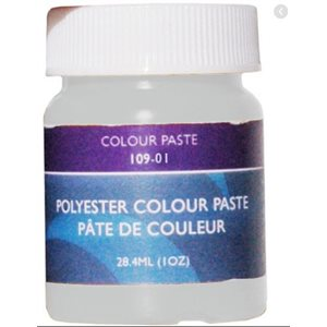 Gelcoat couleur pâte blanche 1 once