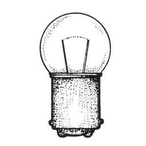 Bulb for AA00106 (Masthead / radar arch mounted anchor ligh) 12v / 6cp