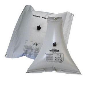 Réservoir d'eau flexible 55L triangulaire 86 cm x 21 cm x 93 cm