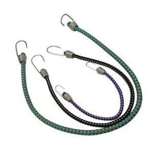 """Cordon élastique avec crochets en acier inoxydable 12 """" paire"""