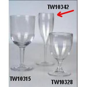 Glass champagne 150ml polycarbonate (4)