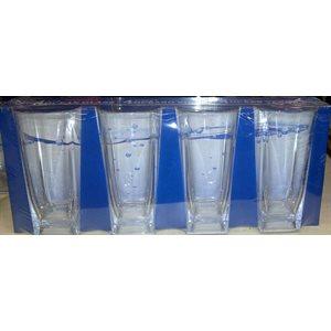 Beer glass large 360ml 4 / pk unbreakable