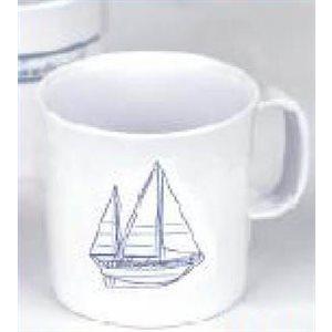 Mug sailboat design each
