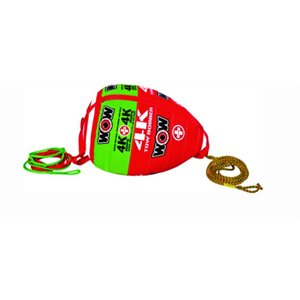"""Tow bobber 4K with 60' rope 38"""" x 27"""" x 27"""""""