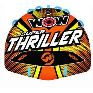 "Super Thriller towable, 3 riders 75"" x 62"""