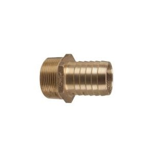 Adapter pipe 1 / 2'' to hose 5 / 8'' bronze