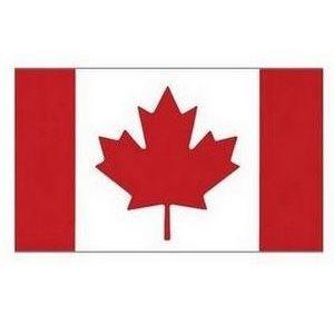 "Drapeau Canada 24'' x 12"""