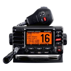 VHF Standard Horizon GX 1700 with GPS Black